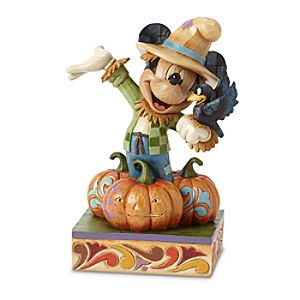 Mickey Mouse Scarecrow Figure by Jim Shore
