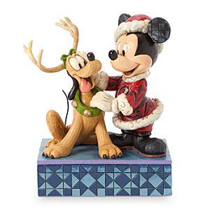 Santa Mickey Mouse ''Santa's Best Friend'' Figure by Jim Shore