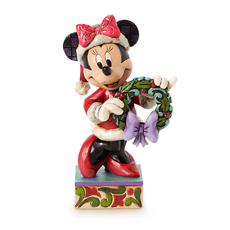 Minnie Mouse ''Season's Greeting'' Figure by Jim Shore | ...