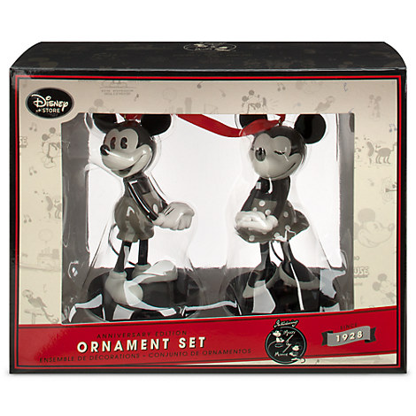 Gray Disney Ornaments