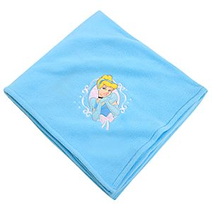 Personalizable Cinderella Fleece Throw Blanket