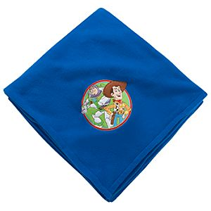 Personalizable Toy Story Fleece Throw Blanket