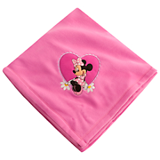 Minnie Mouse Fleece Throw - Personalizable