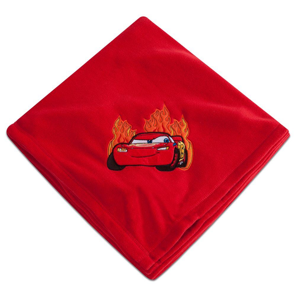 Lightning McQueen Fleece Throw - Personalizable
