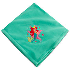 Ariel Fleece Throw - Personalizable