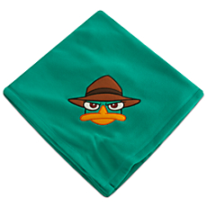 Phineas and Ferb Agent P Fleece Throw - Personalizable