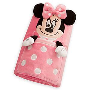 Minnie Mouse Character Blanket - Personalizable