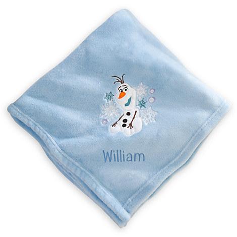 http://www.disneystore.com/olaf-throw-blanket-personalizable/mp/1362760/1000334/
