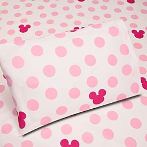 Pop-up Silhouette Minnie Mouse Sheet Set