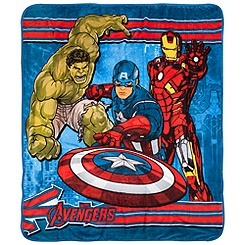 The Avengers Fleece Throw