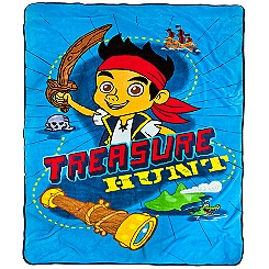 Jake and the Never Land Pirates Fleece Blanket