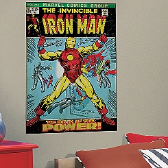 Iron Man Wall Graphic