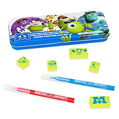 Monsters University Finger Printing Art Set