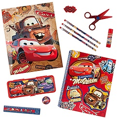 Cars Art Supply Kit