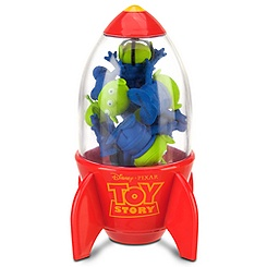 Toy Story Space Alien Eraser Rocket Set
