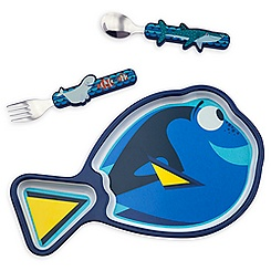 Finding Dory Plate and Flatware Set