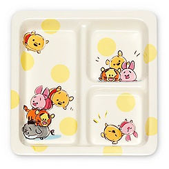 Winnie the Pooh and Friends	''Tsum Tsum'' Plate