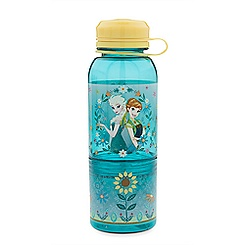 Anna and Elsa Snack Bottle - Frozen Fever
