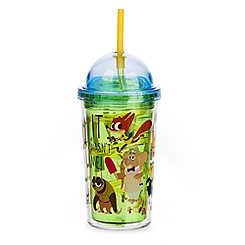 Zootopia Tumbler with Straw
