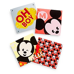Mickey Mouse MXYZ Acrylic Coaster Set