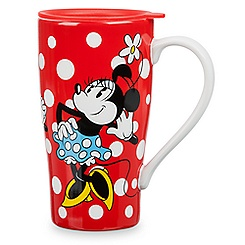 Minnie Mouse Latte Mug with Lid