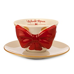 Minnie Mouse Bow Cup and Saucer