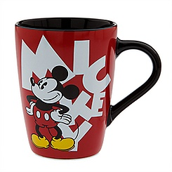 Mickey Mouse Logo Mug