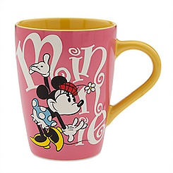 Minnie Mouse Logo Mug