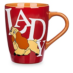 Lady and the Tramp Logo Mug