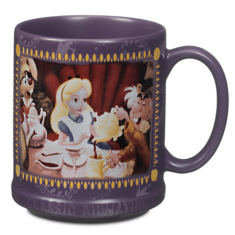 Alice in wonderland mug classic animation collection bonus items disney - Mug alice au pays des merveilles ...