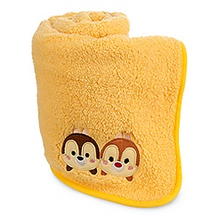 Chip 'n Dale ''Tsum Tsum'' Plush Blanket in Case