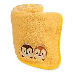 Chip 'n Dale ''Tsum Tsum'' Plush Blanket in Case