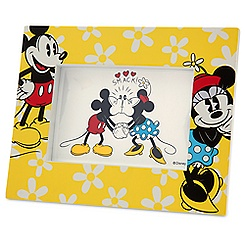 Mickey and Minnie Mouse Photo Frame - 4'' x 6''