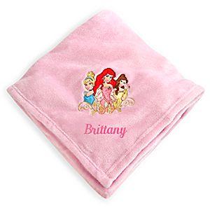 Disney Princess Fleece Throw - Personalizable