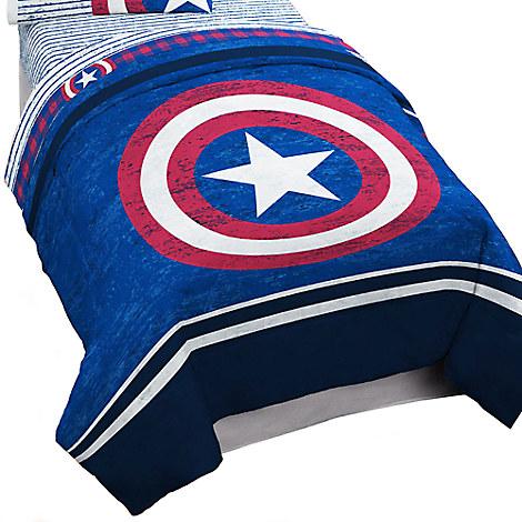 Captain America Comforter - Twin  Bedding  Disney Store