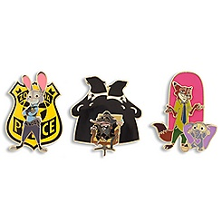 Zootopia Limited Edition Pin Set