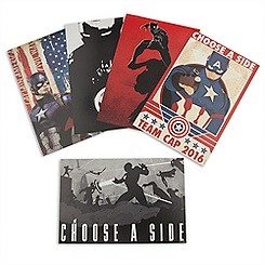 Captain America: Civil War Limited Edition Lithograph Set
