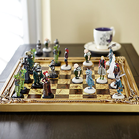 Alice Through The Looking Glass Limited Edition Chess Set