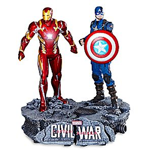 Captain America and Iron Man Limited Edition Figure Set - Captain America: Civil War