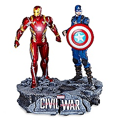Captain America and Iron Man Limited Ed. Figure Set - Captain America: Civil War
