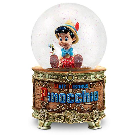 Authentic disney pinocchio jiminy cricket musical - Boule de neige photo pas cher ...