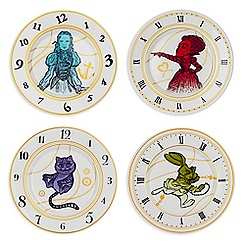 Alice Through the Looking Glass Ceramic Plate Set