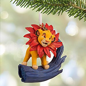 Simba Sketchbook Ornament