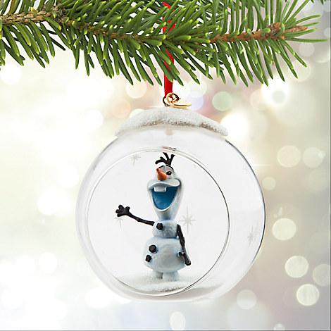 disney weihnachts ornament die eisk nigin olaf schneeman. Black Bedroom Furniture Sets. Home Design Ideas