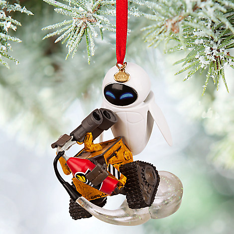 WALL-E and EVE Sketchbook Ornament | Disney Store