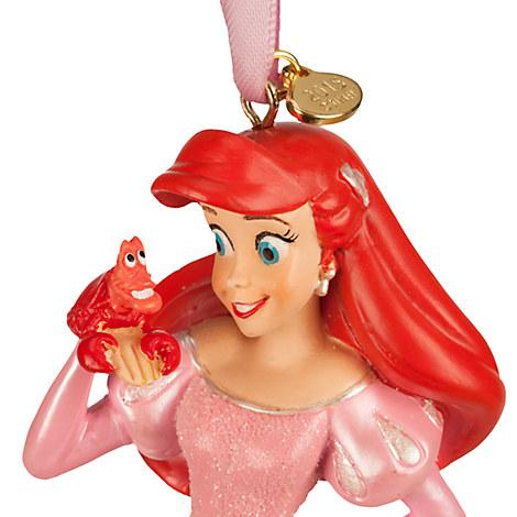 Authentic disney 2015 princess ariel sketchbook christmas for Ariel christmas decoration