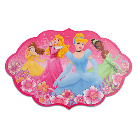 disney princess personalized placemat auto design tech