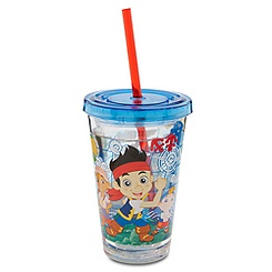 Jake and the Never Land Pirates Tumbler with Straw - Small