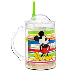 Mickey Mouse Tumbler Mug with Straw - Summer Fun