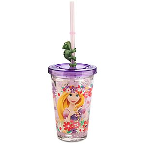Rapunzel Tumbler with Straw - Small